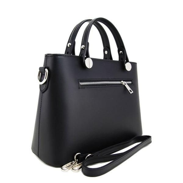 Skórzana torebka Adelaide Nero