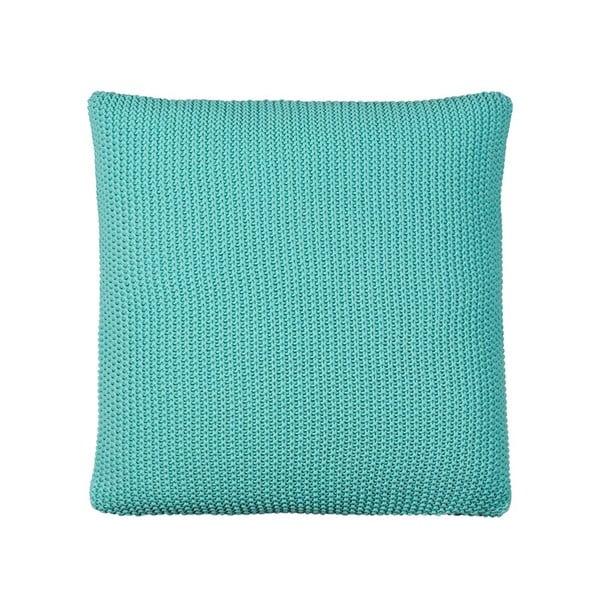 Poduszka z wypełnieniem Moss Knit Mint, 50x50 cm