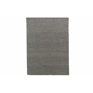 Dywan wełniany Flat, 100x150 cm, czarny