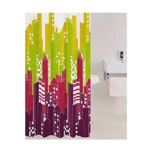 Zasłona prysznicowa Big City, 180x180 cm