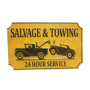 Tablica na ścianę Salvage&Towing