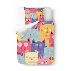 Pościel Butter Kings Cats in Colours, 140x200 cm