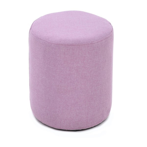 Materiałowy taboret Candy Pink