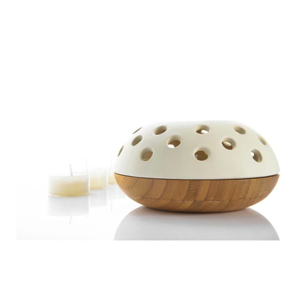 Bambusowy świecznik Vista