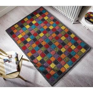 Dywan wełniany Flair Rugs Illusion Campari, 80x150 cm