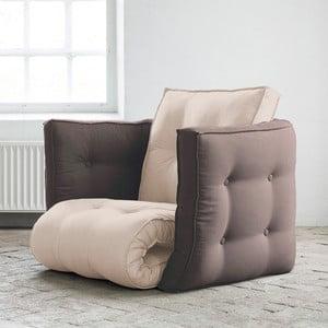 Fotel rozkładany Karup Dice Vision/Gris