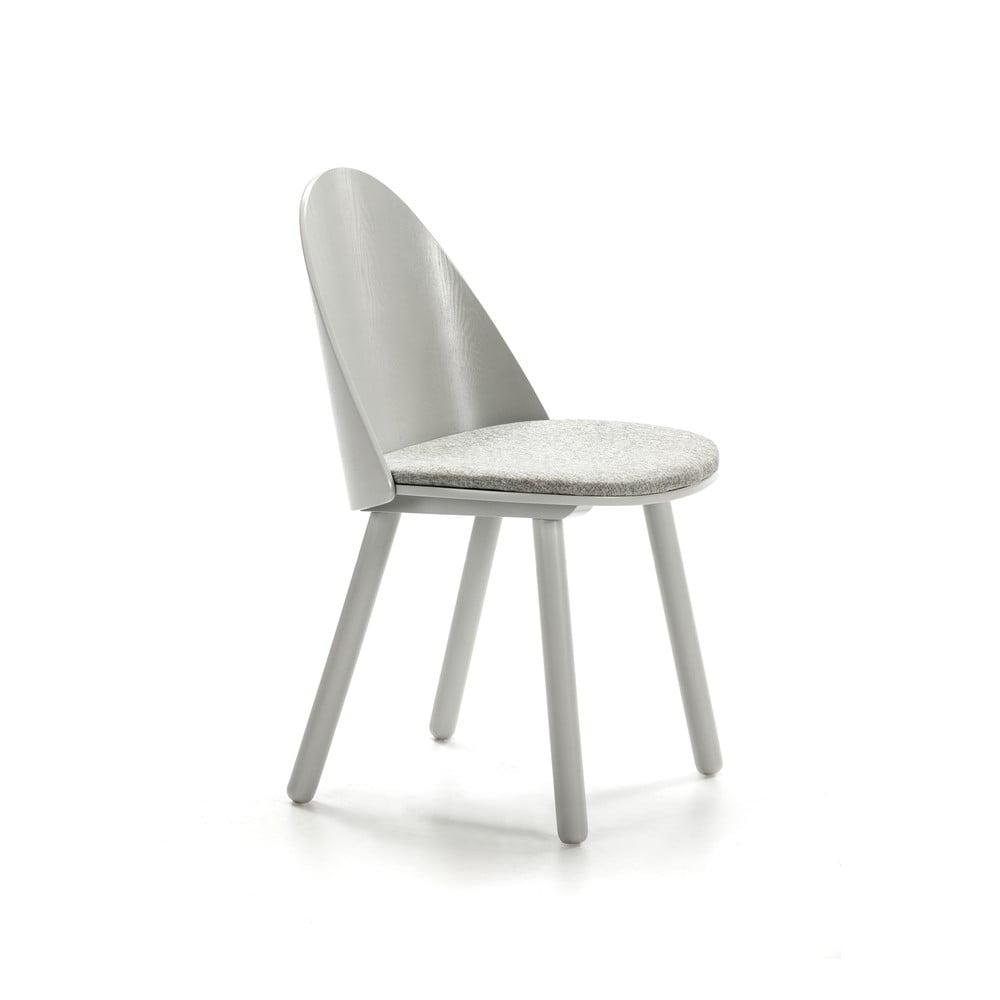 Szare krzesło Teulat Uma
