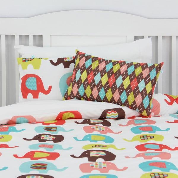 Poszwa na kołdrę i poduszkę Sweet Elephants 140x200 cm