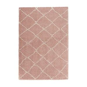 Różowy dywan Mint Rugs Allure Ronno Rose Creme, 120x170cm