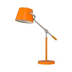 Lampa stołowa Xavier, pomarańczowa