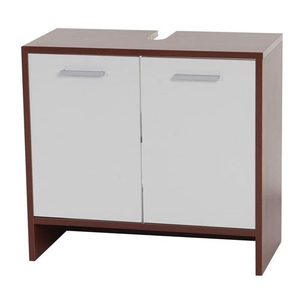 Szafka łazienkowa Sonoma Brown/White, 28x60x56 cm
