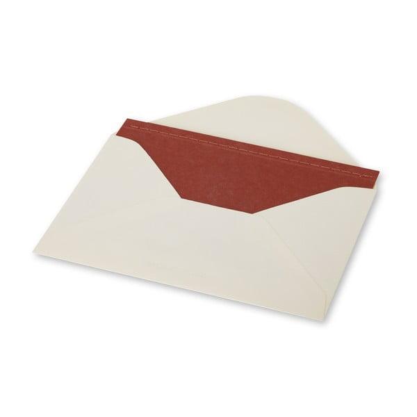 Zestaw do pisania Moleskine Terracotta, notes + okładka