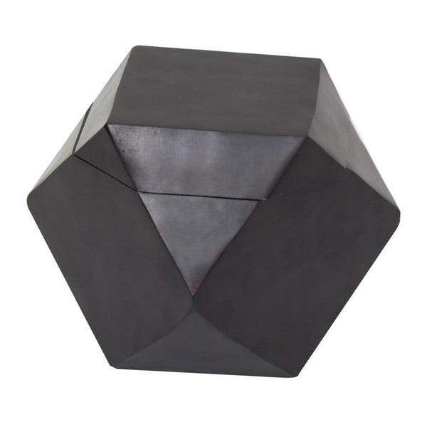 Pojemnik Away Black, 13x13x13 cm