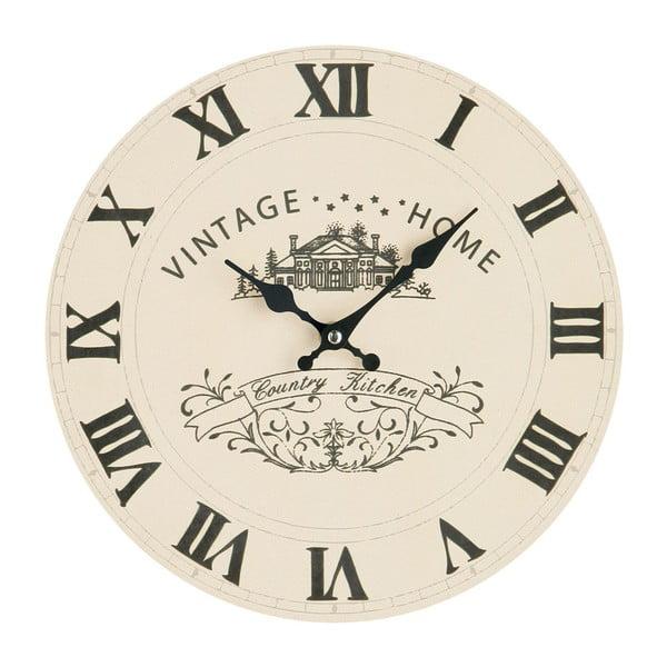 Zegar ścienny, Premier Housewares Vintage Home 29 cm