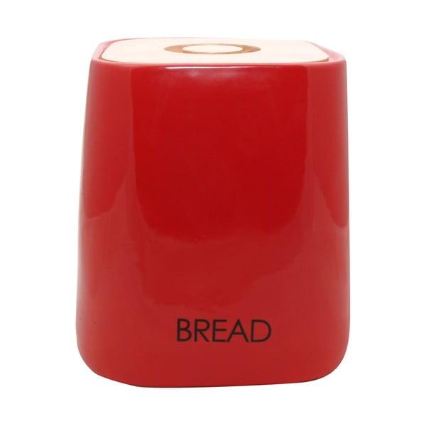 Pojemnik na pieczywo Cubic Red