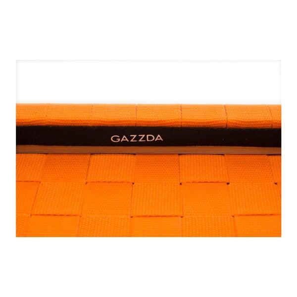 Krzesło Fawn White Pigment Gazzda, pomarańczowe