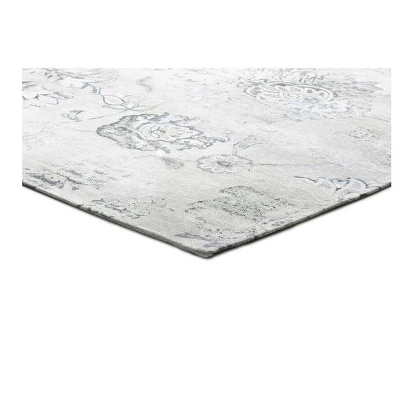 Szary dywan z domieszką bawełny Universal Chenile Gris, 60x110cm