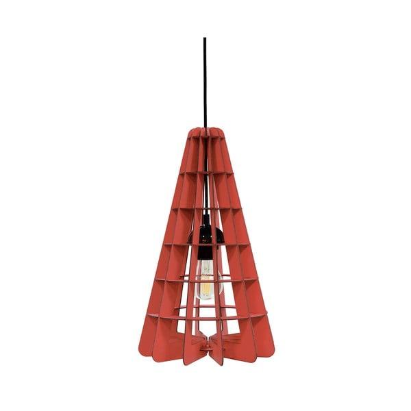 Lampa Conic, czerwona