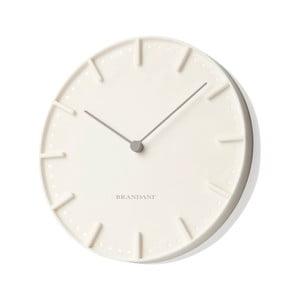 Kremowy zegar ścienny Mister Tacche