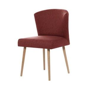 Ceglaste krzesło My Pop Design Richter