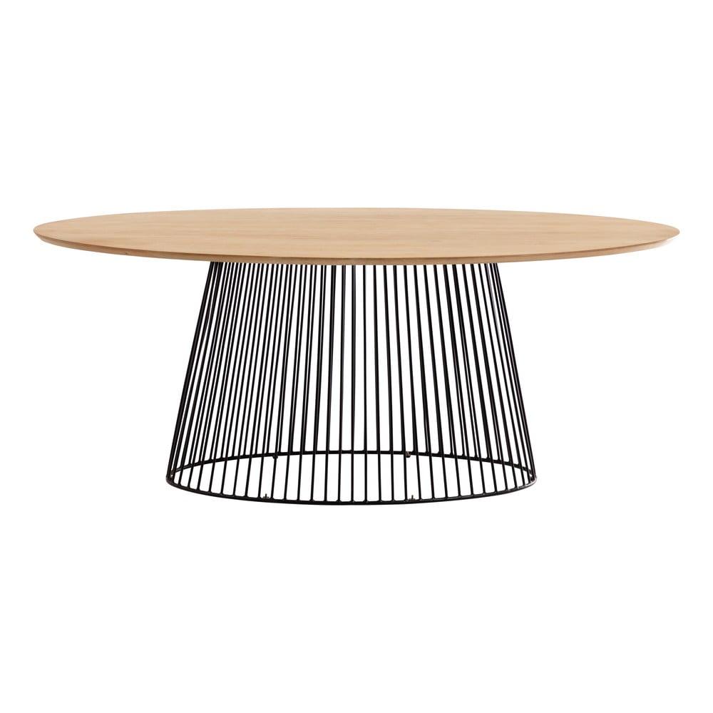 Stół do jadalni z blatem z drewna mangowego La Forma, 200 x 110 cm