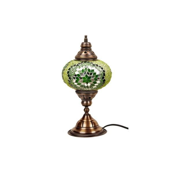 Szklana lampa stołowa Homemania Fishing, ⌀ 17 cm