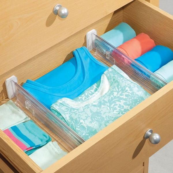 Regulowany organizer do szuflady Linus, 2 szt.