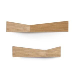 Zestaw 2 półek wielofunkcyjnych Woodendot Pelican Oak M+L