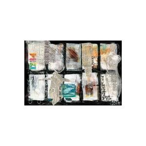 Obraz na płótnie Paper Composition 80x120 cm