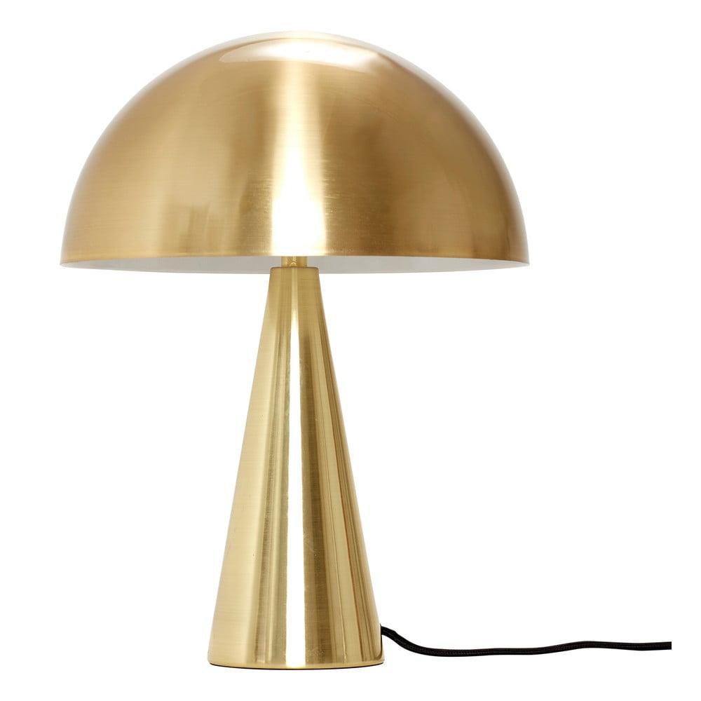 Lampa stołowa w kolorze złota Hübsch Herho