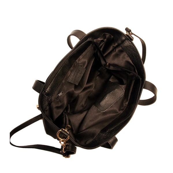 Czarna torebka skórzana Andrea Cardone Matteo