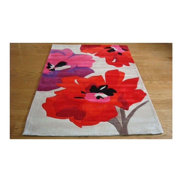 Dywan Bloom Red, 160x220 cm