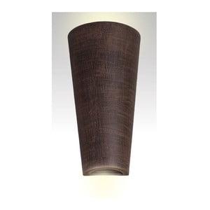 Kinkiet ceramiczny Tuba, wenge