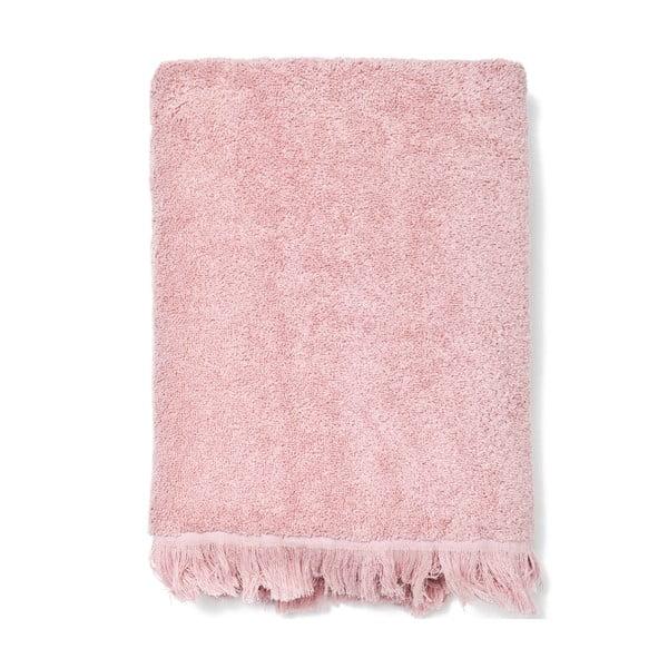 Zestaw 2 różowych ręczników i ręczników kąpielowych Casa Di Bassi Bath