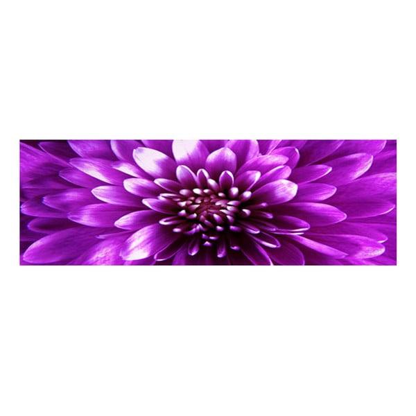 Obraz na szkle Fioletowy kwiat, 30x90 cm