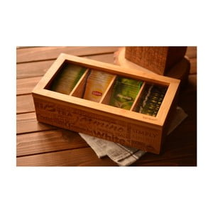 Pojemnik z bambusu na herbaty ekspresowe Bambum Tea&Coffee