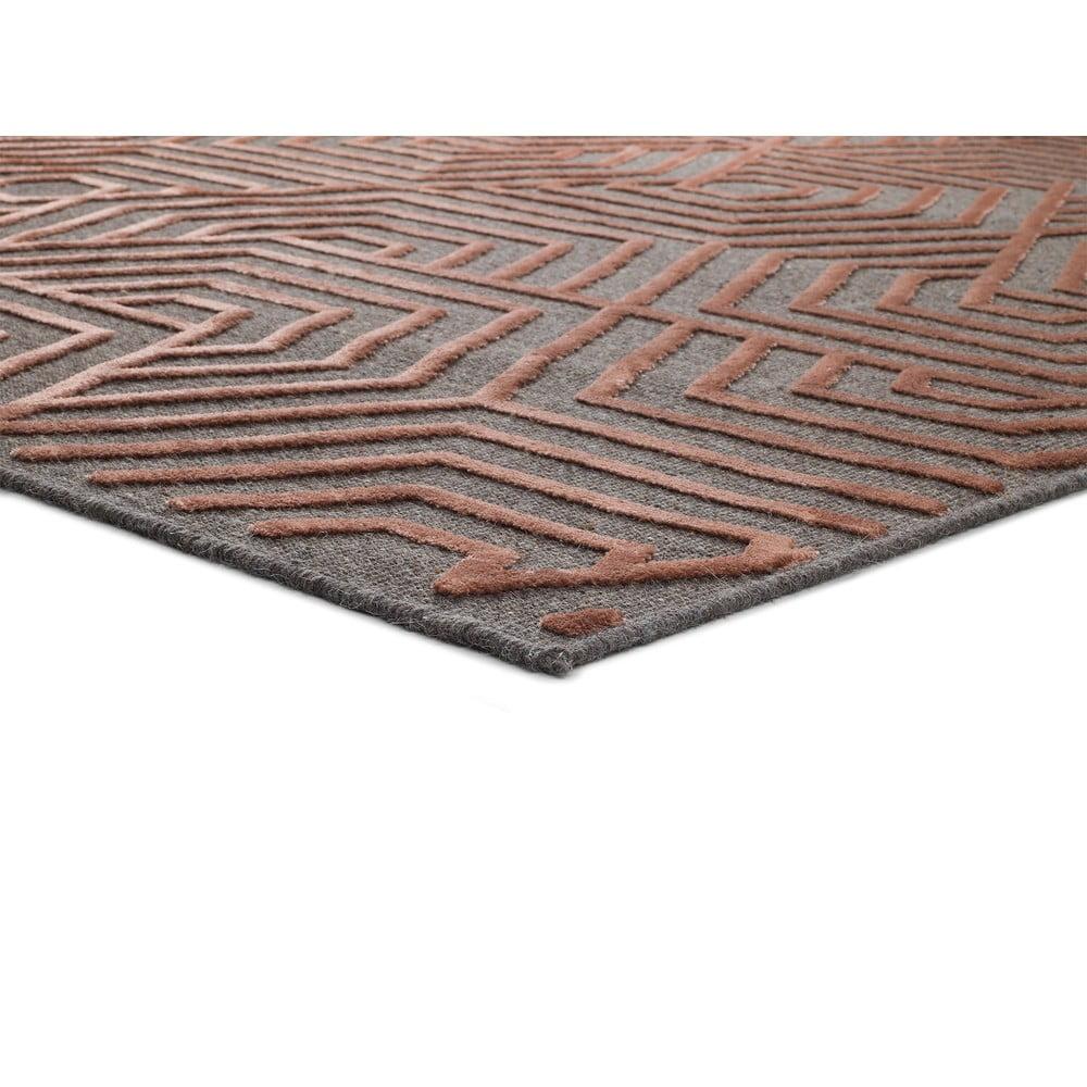 Czerwony dywan Universal Lana, 120x170 cm