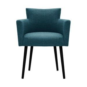 Turkusowe krzesło Corinne Cobson Billie