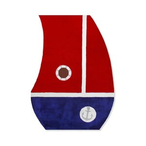 Dywan dziecięcy Mavis Red Sail, 100x150 cm