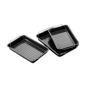 Zestaw 3 form do pieczenia Premier Housewares Roasting Trays