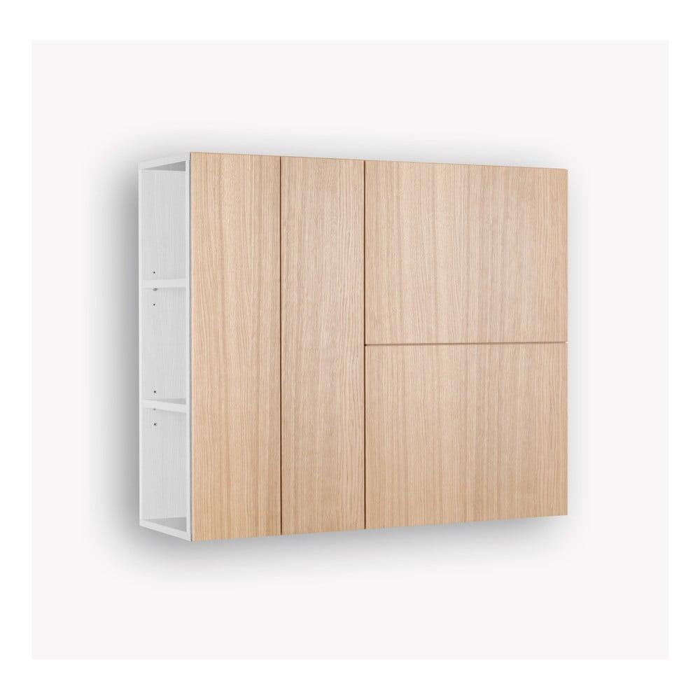2-drzwiowa szafka wisząca z wnęką Jitona Mamma