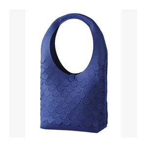 Filcowa torebka, niebieska