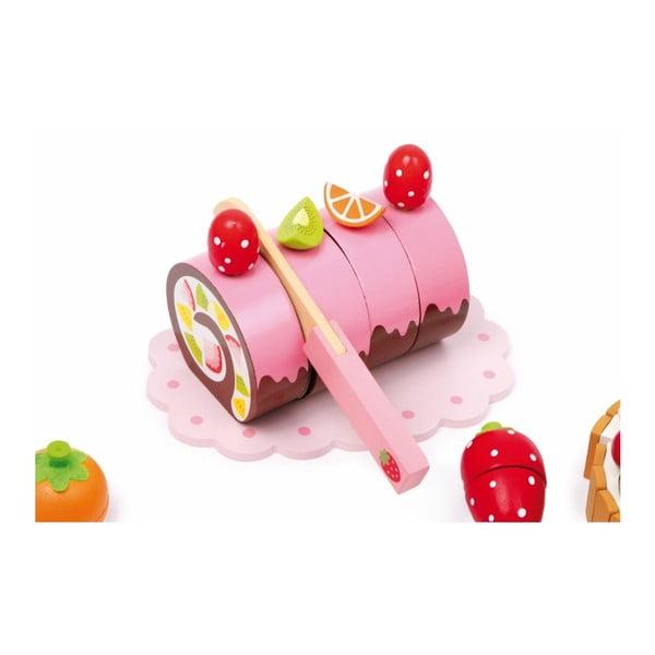 Pojemnik ze słodyczami i naczyniami dla dzieci Legler Sweeties, 39 elementów