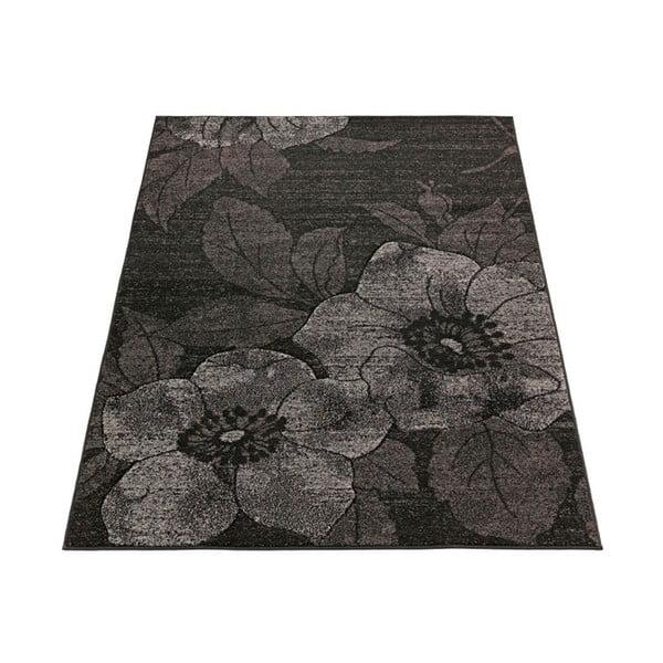 Dywan Intarsio Dark Flower, 160x230 cm