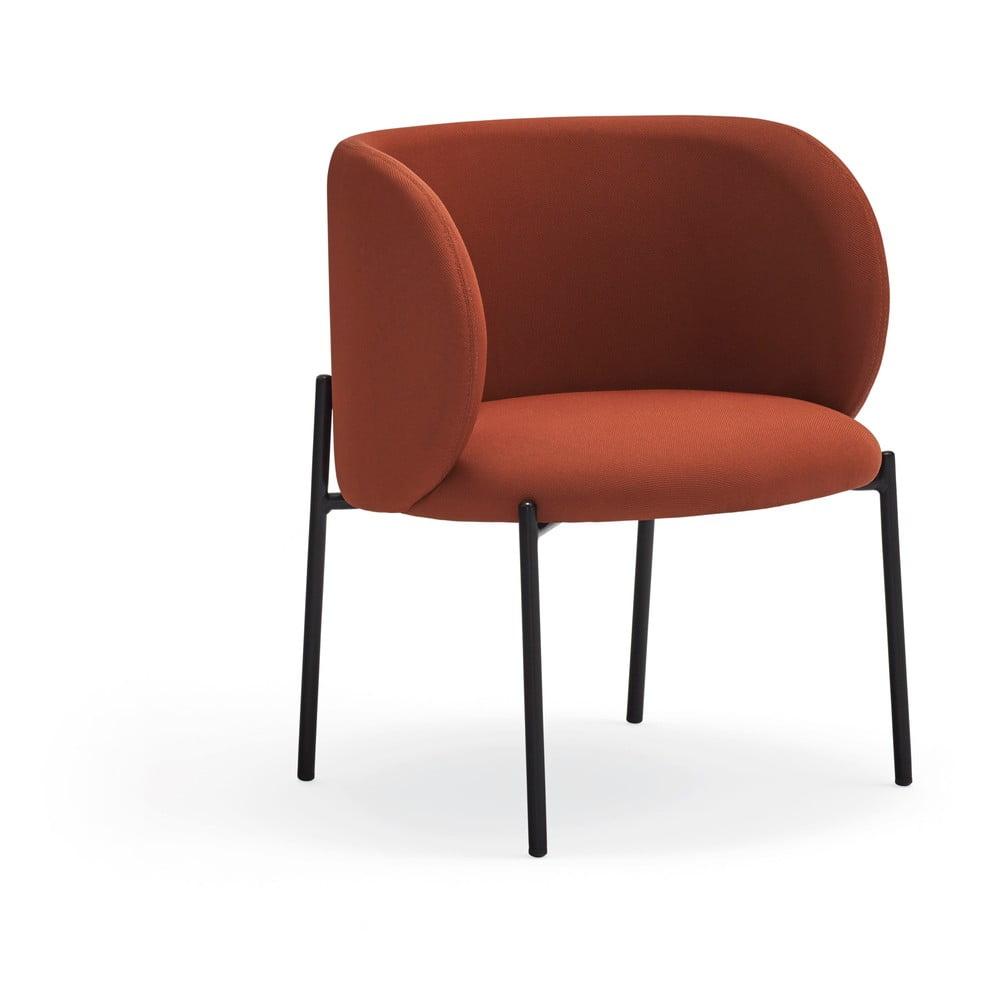 Czerwony fotel Teulat Mogi