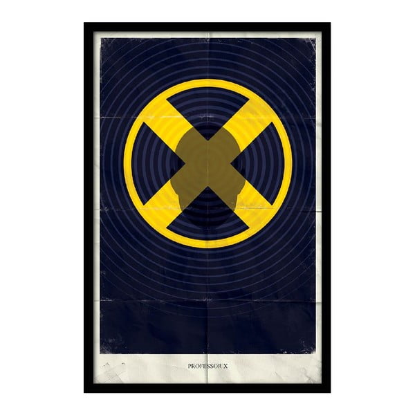 Plakat Professor X, 35x30 cm