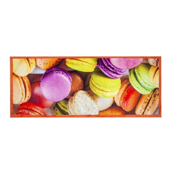 Wytrzymały dywan kuchenny Webtapetti Macarons, 60x220 cm