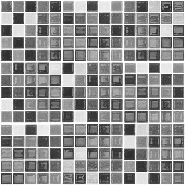 Zestaw 9 naklejek Ambiance Shade of Grey, 20x20 cm