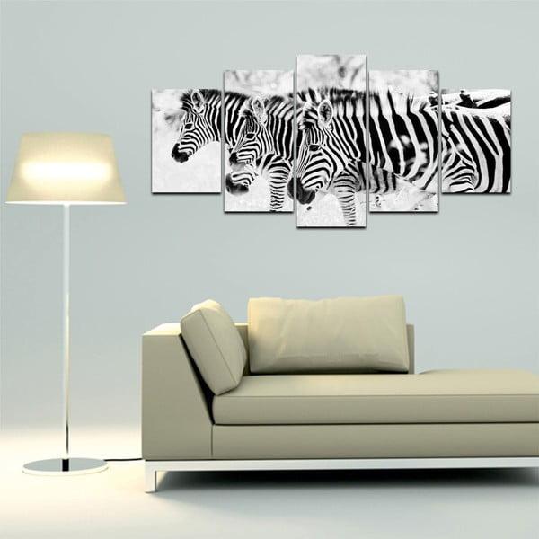 Wieloczęściowy obraz Black&White no. 73, 100x50 cm