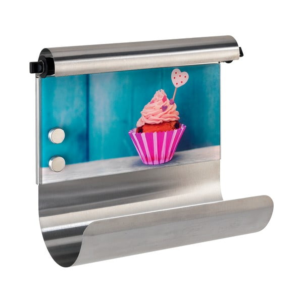 Magnetyczny uchwyt na ręcznik papierowy i folię Wenko Cupcake